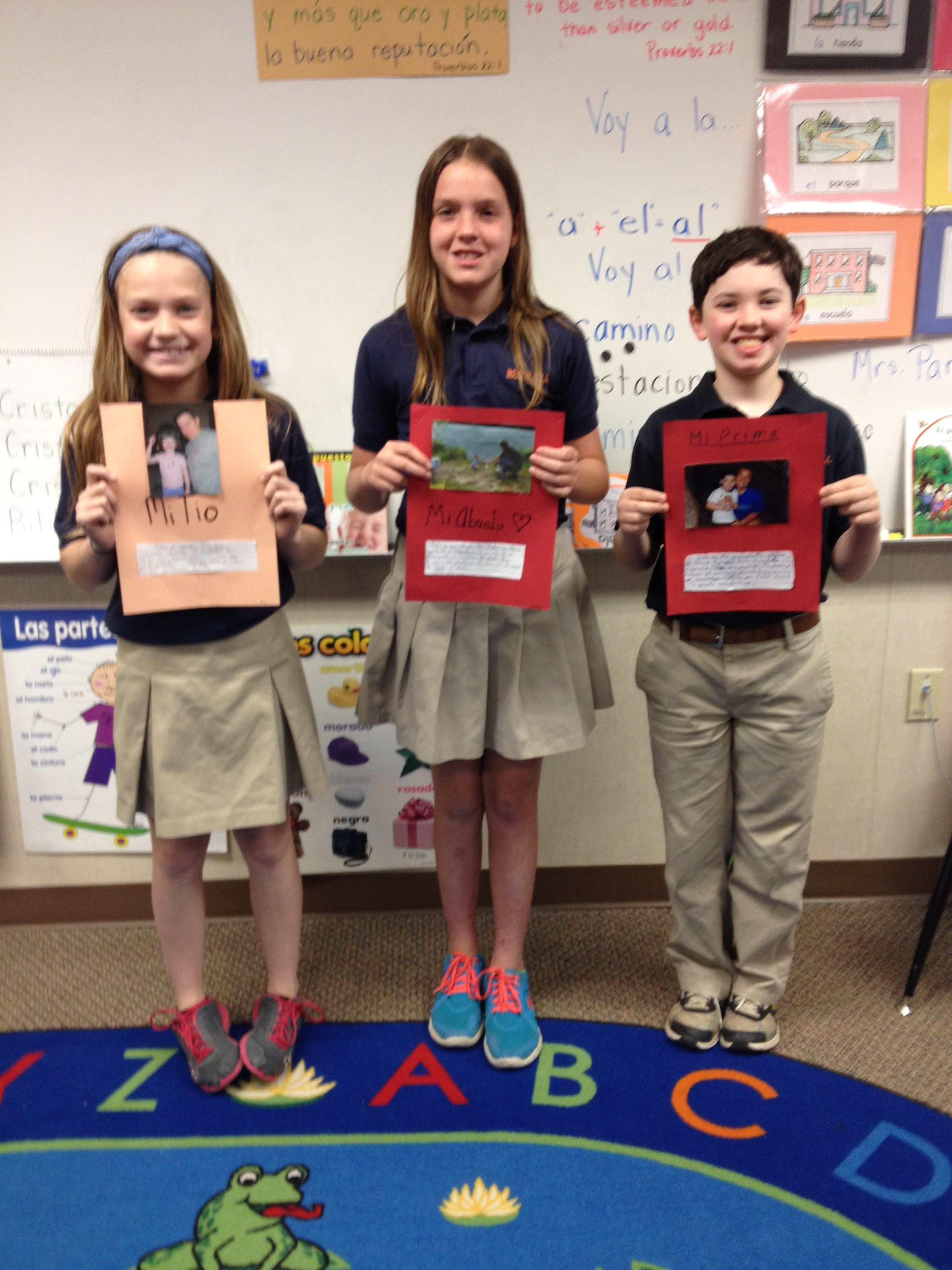 Lower School Fifth Grade Spanish Lesson