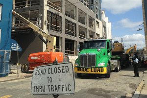Major Construction on Reed St.