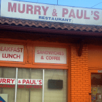 Murray & Paul's, the oldest restauant location in Brookland