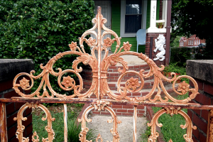 charming wrought iron gate