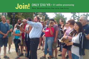 Join! Only $10/yr + $1 online processing