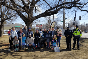 Triangle Park Clean-up, Spring 2018