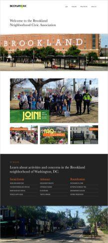 civic association website