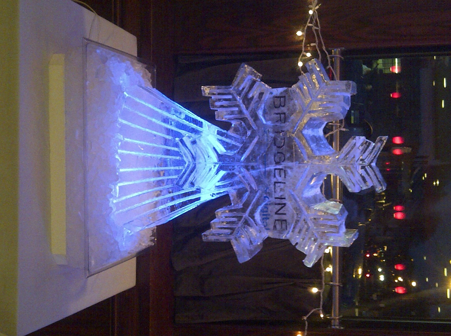 Holiday Ice Sculptures Boston Brookline Ma Brookline Ice Co