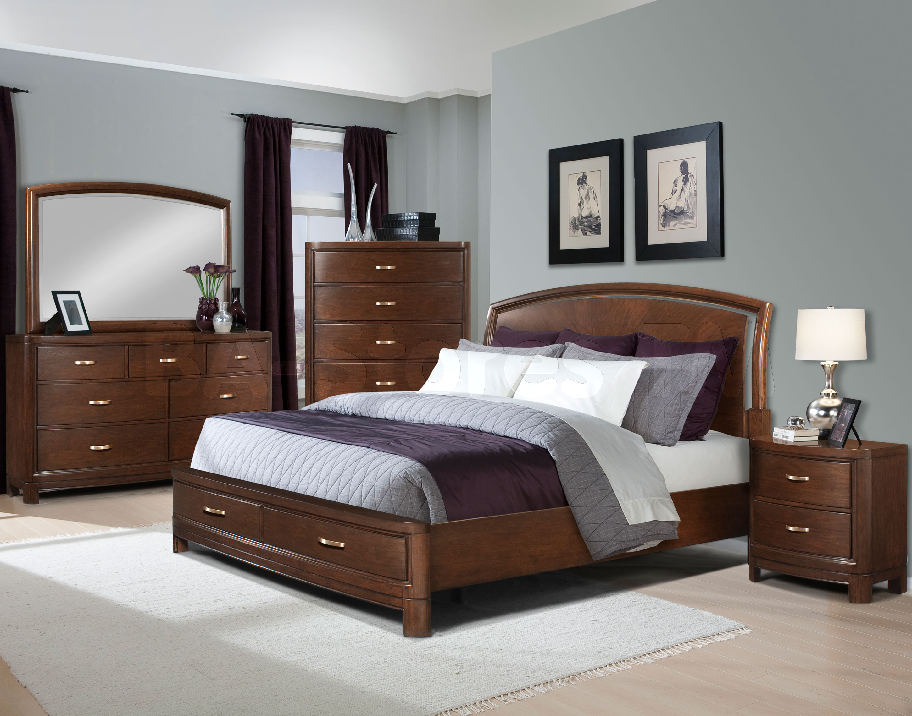 Bedroom Ideas With Brown Furniture Brooklyn Apartment