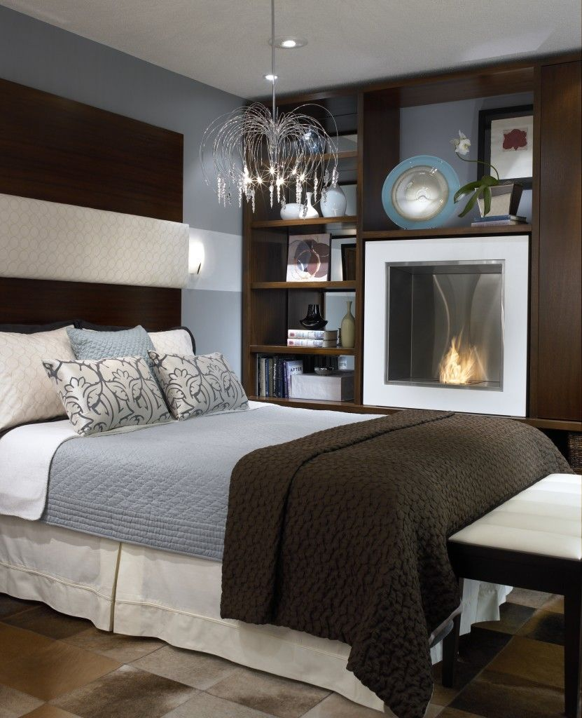 Candice Olson Bedroom Fireplace Brooklyn Apartment