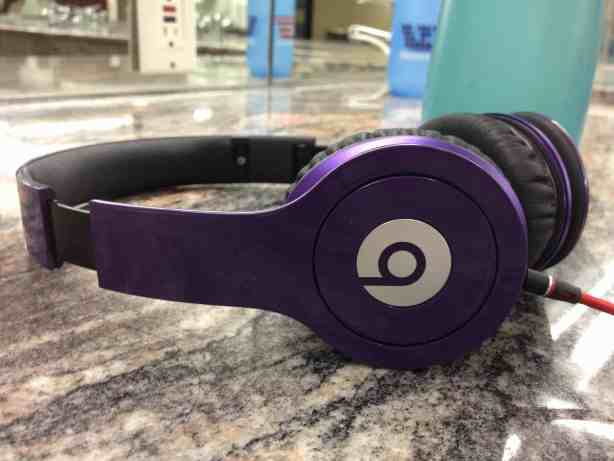 beats by dre purple headphones
