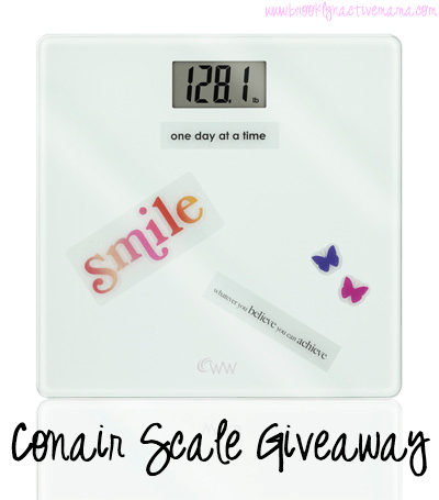 My Thoughts On The (Dreaded) Scale + A Giveaway!
