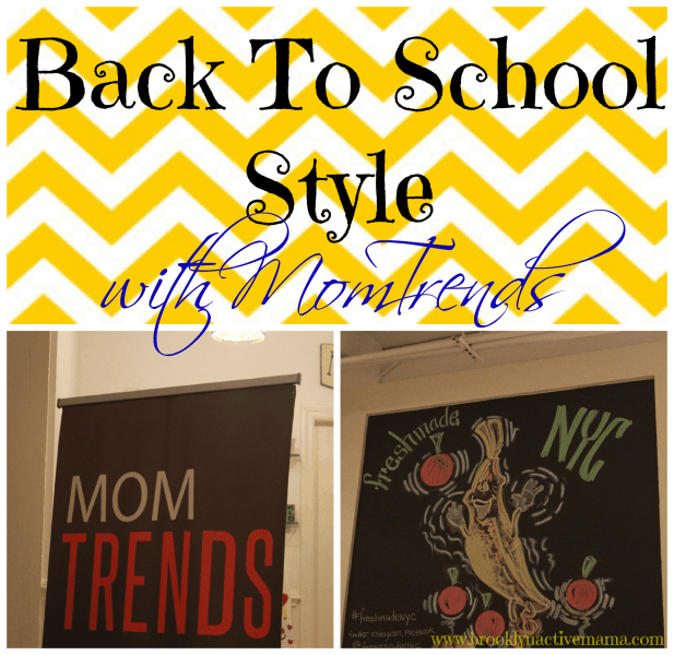 Back To School Style With Momtrends