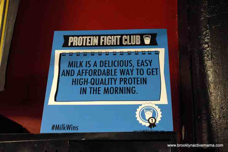 #milkwins Protein Fight Club