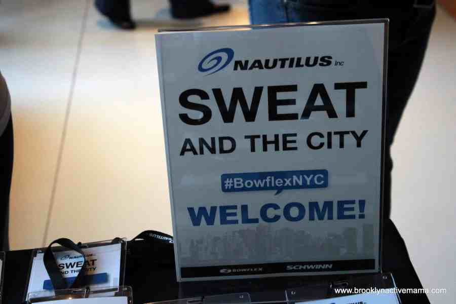 Nautilus Sweat In The City Event