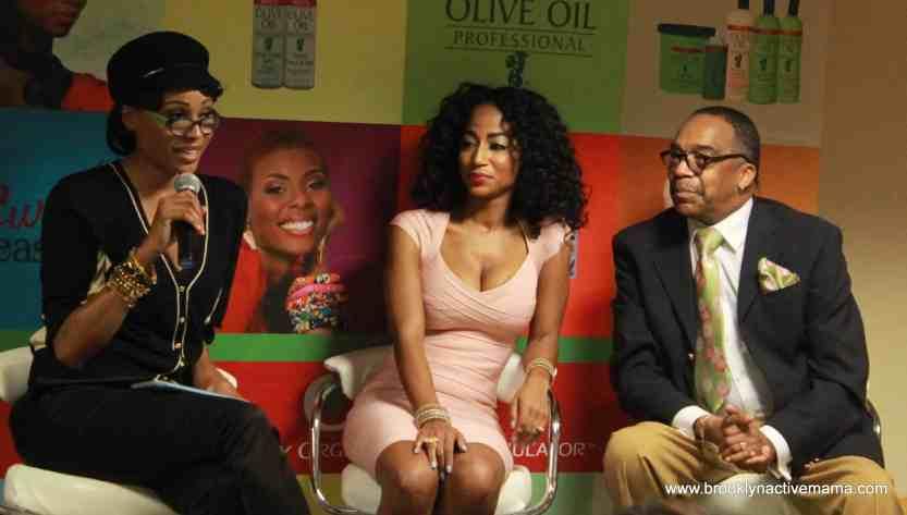 """Cynthia Bailey, Africa Miranda, Dr. Hair """"Blogalicious 5"""""""
