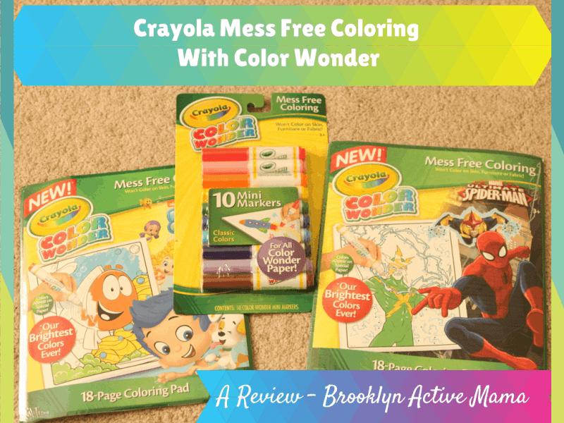 Crayola Mess Free Coloring
