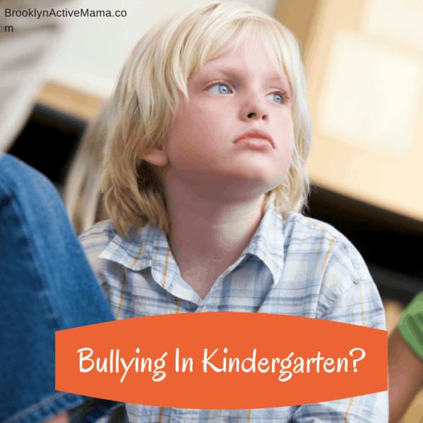 Bullying In Kindergarten-