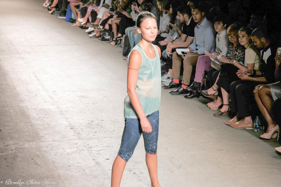 oiselle running apparel runway show