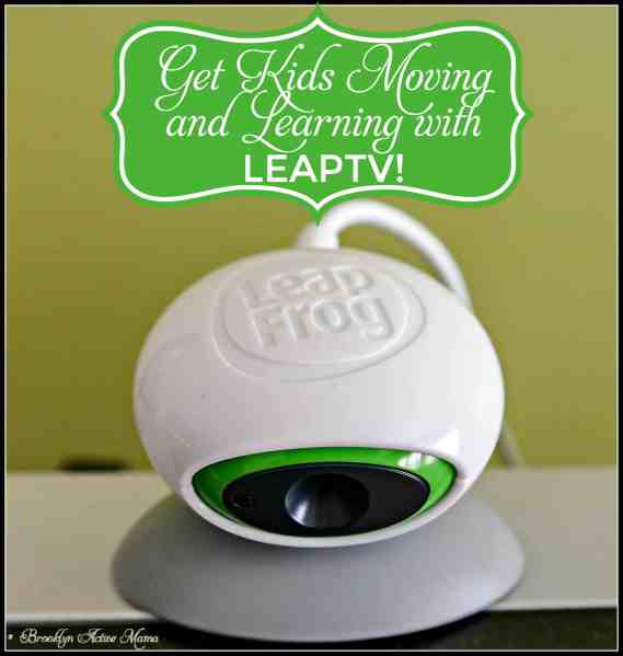 Get Your Kids Moving and Learning with LeapTV! #LeapTV #MommyParties