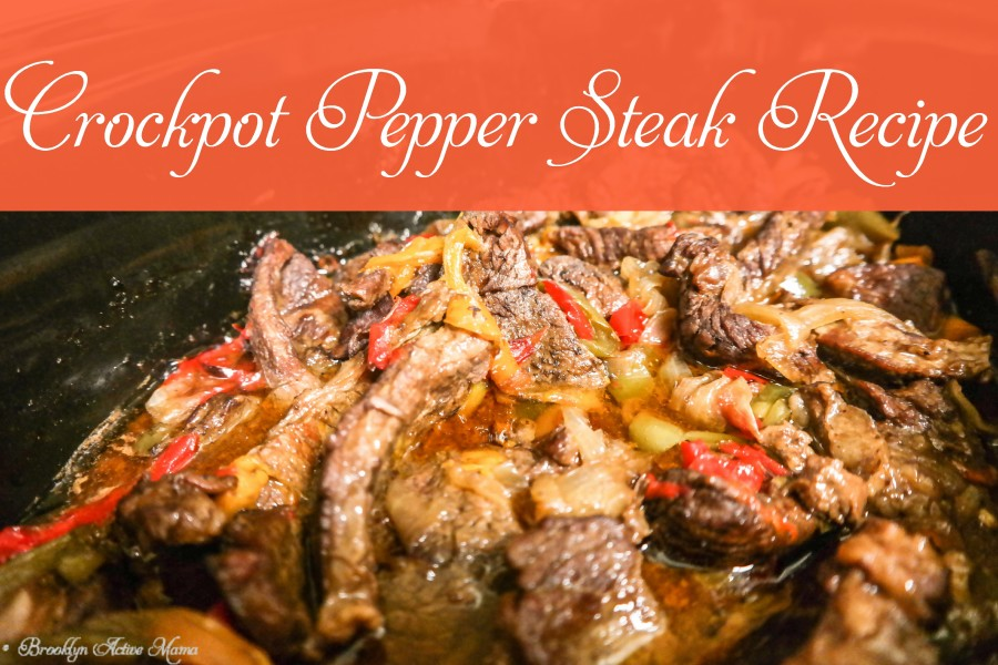 CrockPot Pepper Steak Recipe