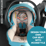 Design Your Own Car Seat With #CosiStyle