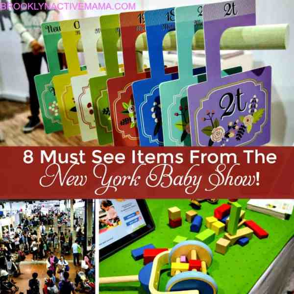 8 MUST see items from the New York Baby show