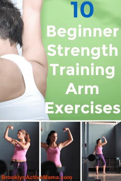 10 Beginner Strength Training Arm Exercises