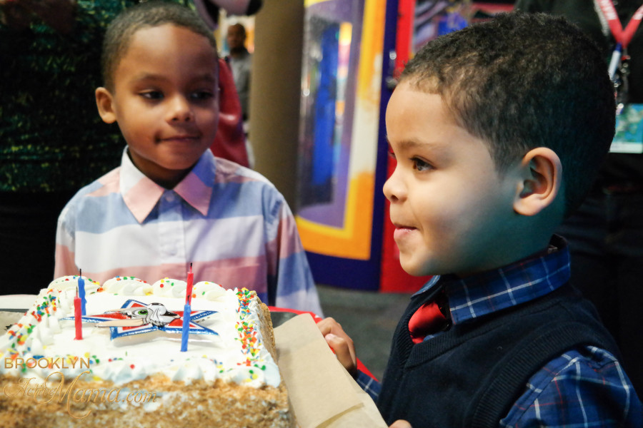Birthday Party at Chuck E. Cheese-2295