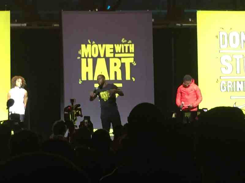 HIIT Workout With Kevin Hart & Nike
