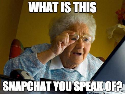 Snapchat meme