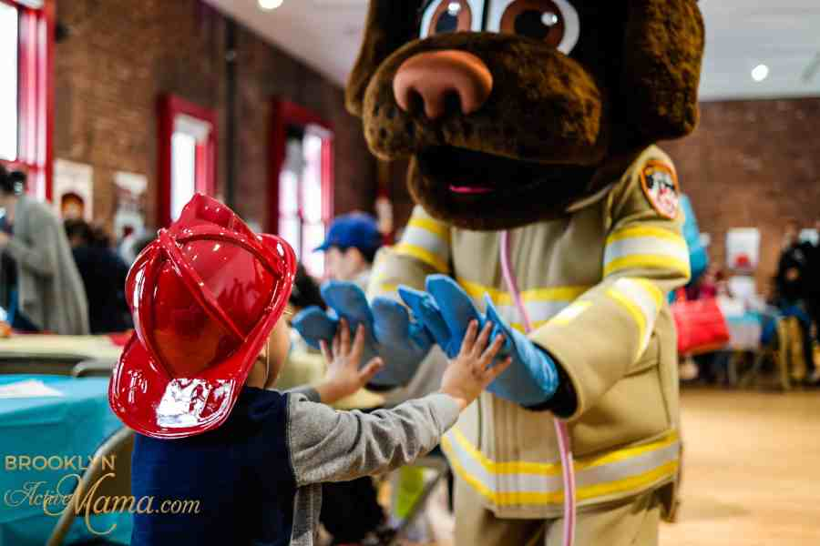 Easter Egg Hunt at the FDNY Fire Museum