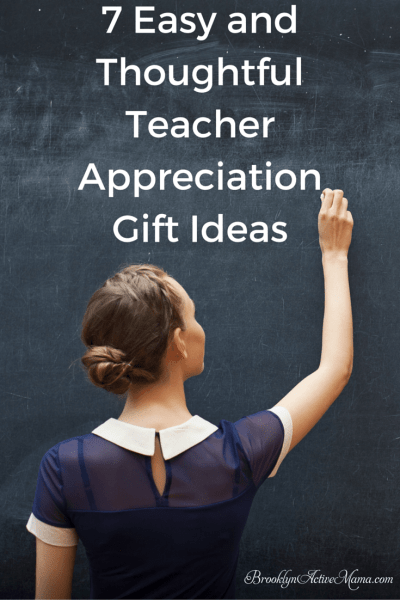 7 Easy and Thoughtful Teacher Appreciation Gift Ideas - Here are some thoughtful gift ideas that ANY teacher would love!