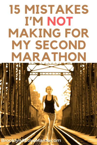 Running my first marathon was tough, hard and probably the best thing I ever did. I am sharing 15 mistakes that I won't make for my second marathon!
