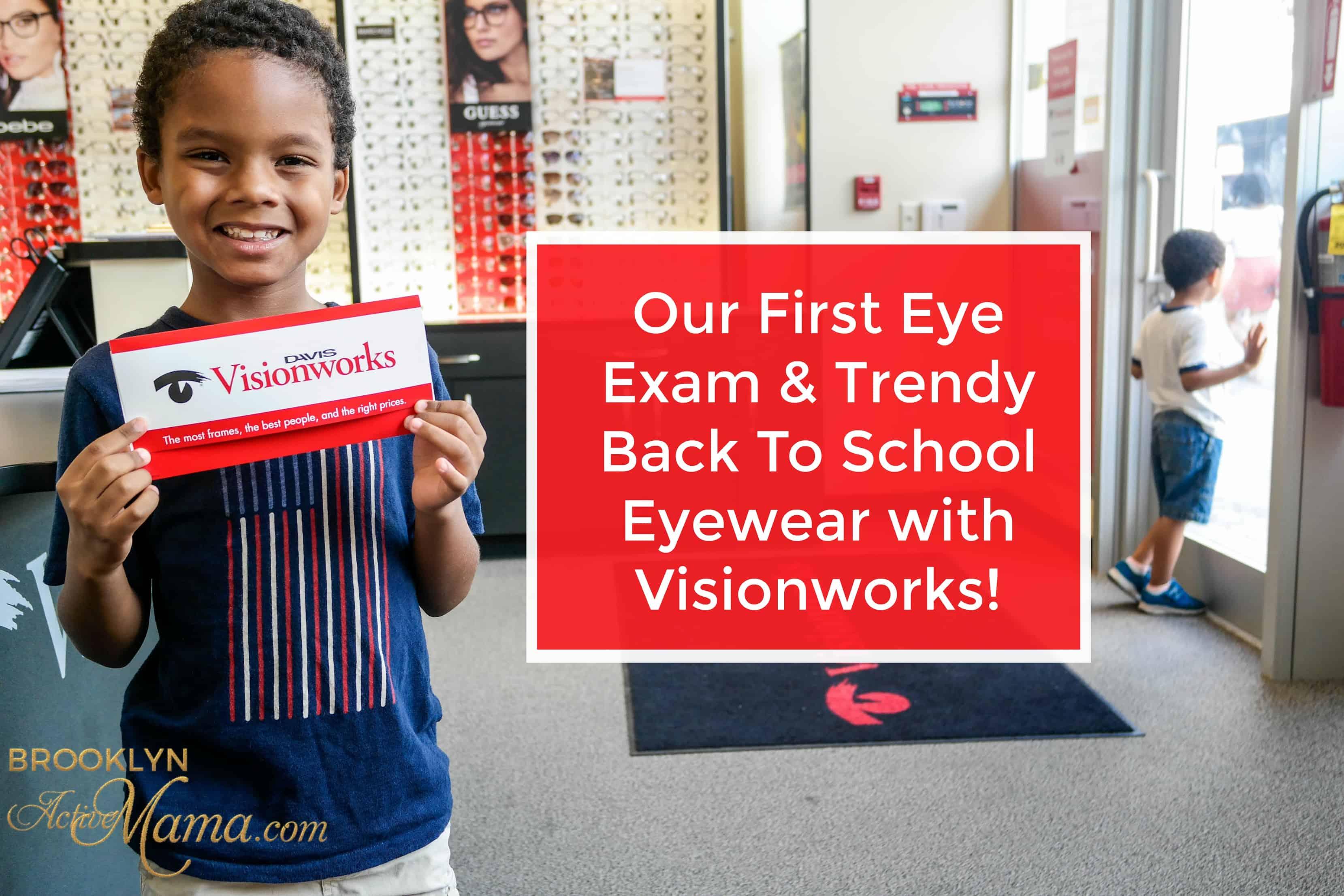 trendy back to schoo eyewear with visionworks