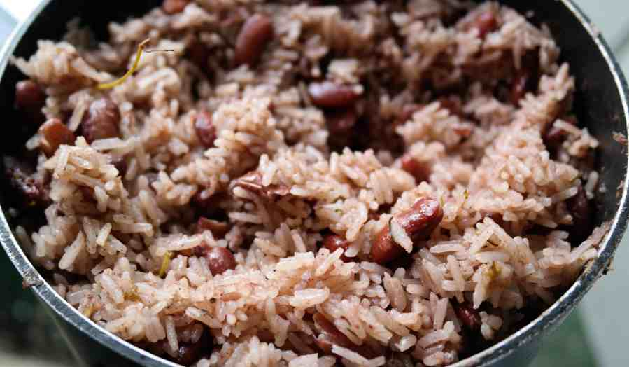 Delicious Authentic Jamaican Rice and Peas Recipe