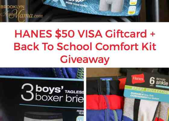 Keep Your Kids Comfortable For Back To School + $50 Visa Giveaway!
