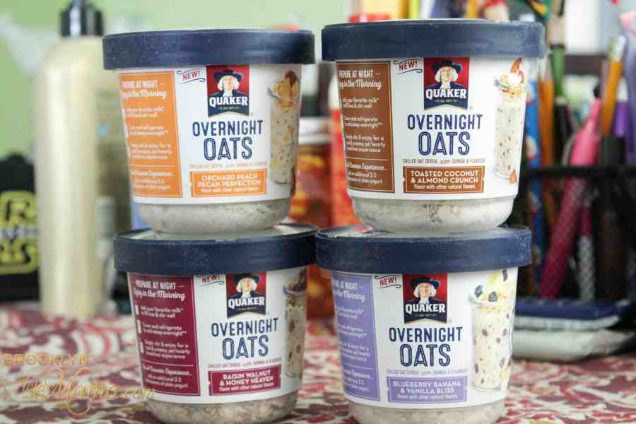 New Quaker Overnight Oats