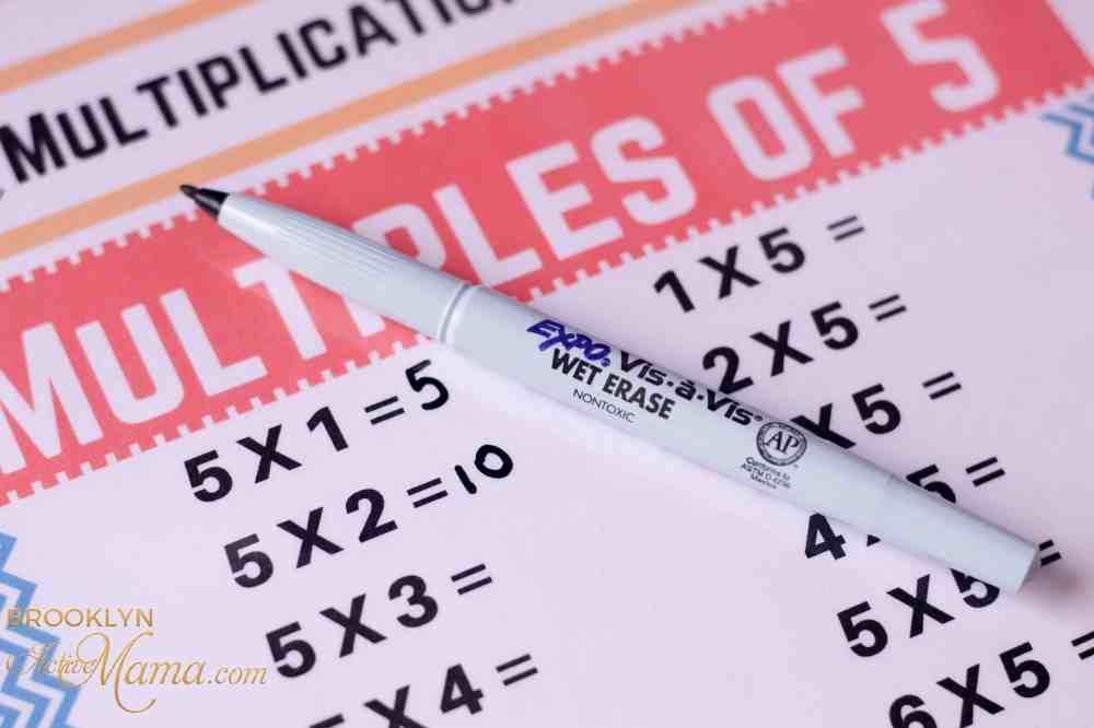 medium resolution of Reusable Third Grade Multiplication Worksheets - Free Printable