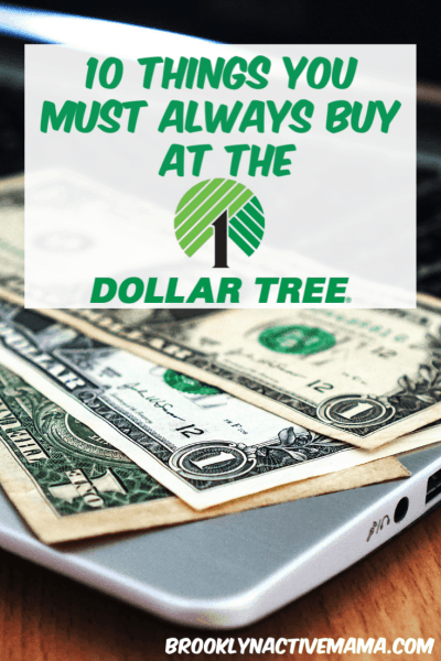 The Dollar Tree is a great place to save money on everything from food to household supplies. These ten things are great for buying at Dollar Tree and will save you a large amount of money. Look for these items on your next Dollar Tree trip.