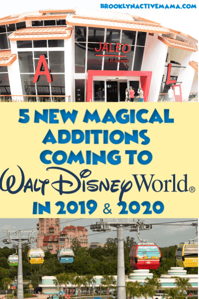 Disney World is adding so many new and fun things in 2019 and 2020! Here are 5 of my favorite new additions you should know if you are planning a trip!