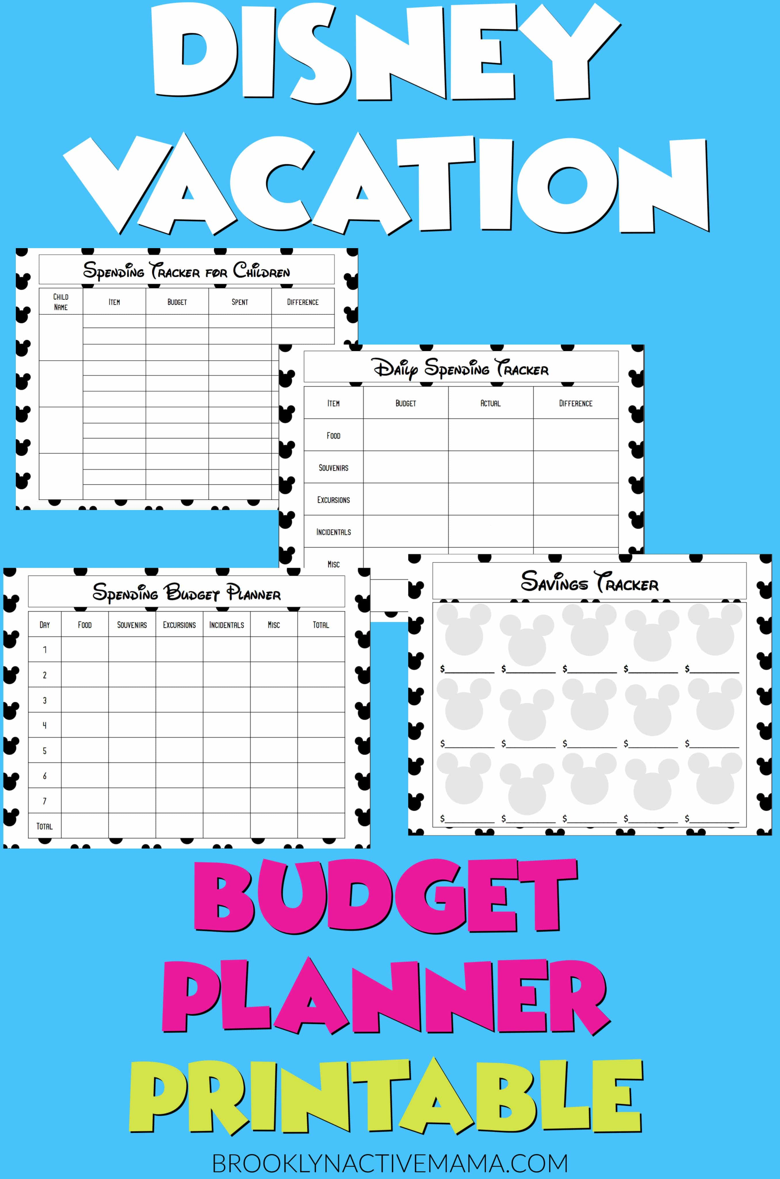 5 Cheap Disney World Secrets Free Disney Budget Planner