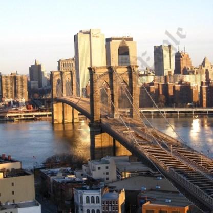 Aerial View of the Brooklyn Bridge 03/23/2008 - Brooklyn Archive