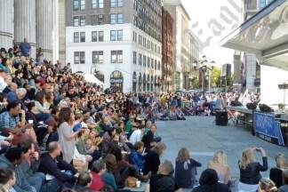 Crowd at the 2012 Brooklyn Book Festival. - Brooklyn Archive