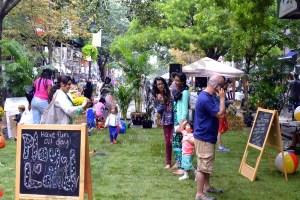 Montague Street Summer Space 2014
