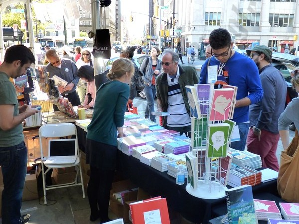 People at the 2012 Brooklyn Book Festival. - Brooklyn Archive