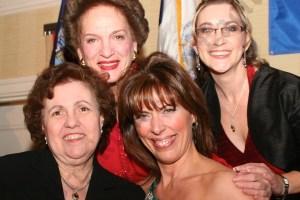 Carmen Beauchamp Ciparick, Judith Kaye, RoseAnn Branda, and Diana Szochet. - Brooklyn Archive