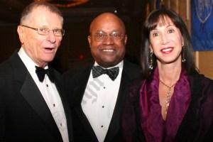 Gerald Held, Theodore Jones, and Gail Prudenti. - Brooklyn Archive
