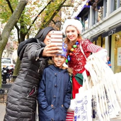 Selfies With Elves 11/26/2016 - Brooklyn Archive
