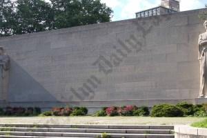 World War Two Memorial in Cadman Plaza Park 07/02/2012