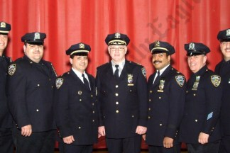 68th Precinct Medal Day at Fort Hamilton Theater 04/03/2008