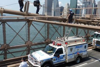 An NYPD spokesperson told theBrooklyn Eaglethat the incident was being investigated by the Counterterrorism Unit. - Brooklyn Archive