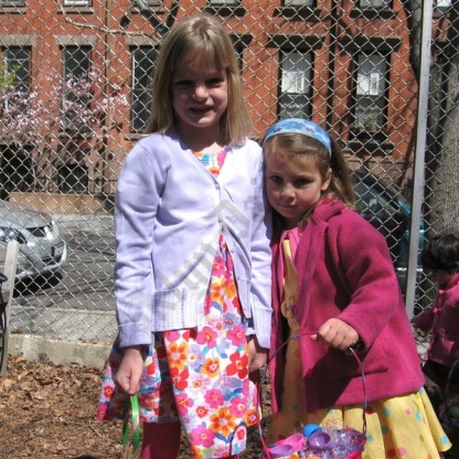 Easter Egg Hunt at Plymouth Church 2009 - Brooklyn Archive