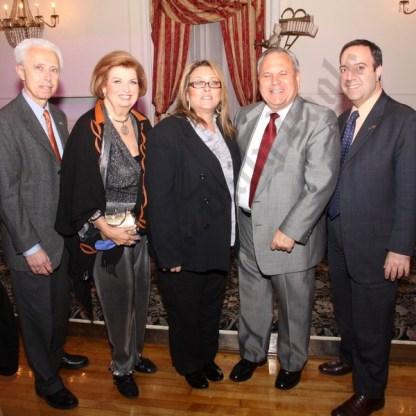 Pierre Seminara, Judith Collins, Irene Sacco, Dean Rasinya, and Carlo Scissura. - Brooklyn Archive